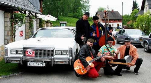 Sraz Cadillac Jitrava s Fandou Němcem